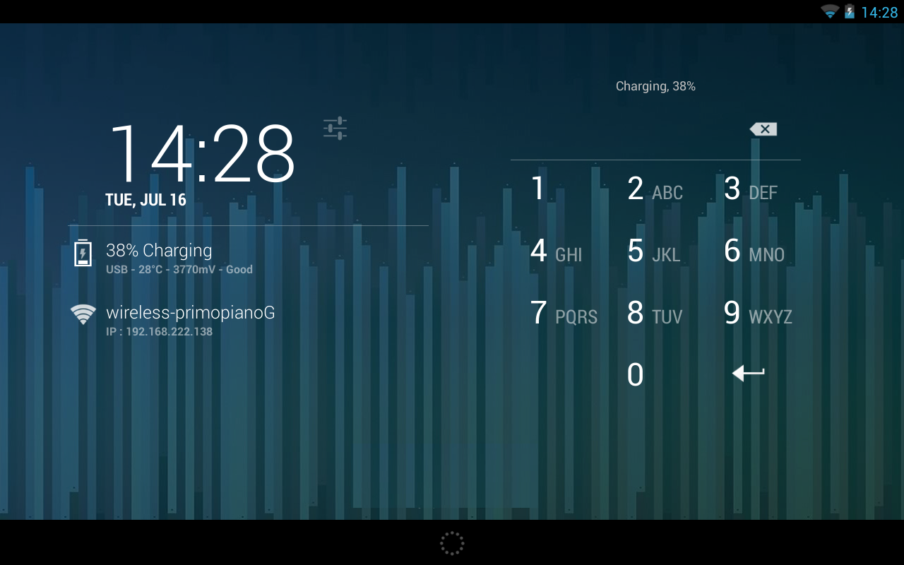 DashClock Battery Extension screenshot 1