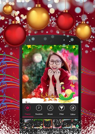 christmas photo video maker screenshot 4