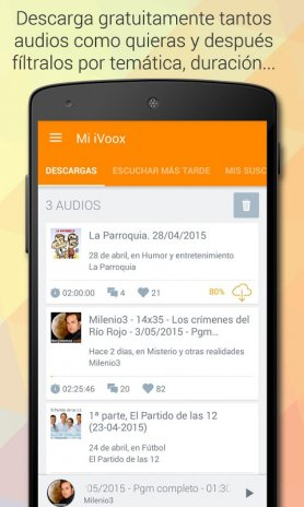Podcast & Radio iVoox 2.210 Descargar APK para Android - Aptoide