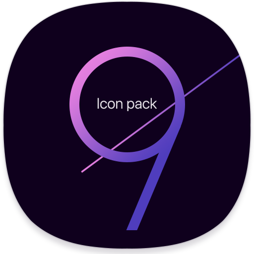 UX S9 Icon Pack - Free Galaxy S9 Icon Pack
