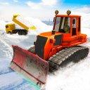 Snow Excavator Road Truck Game
