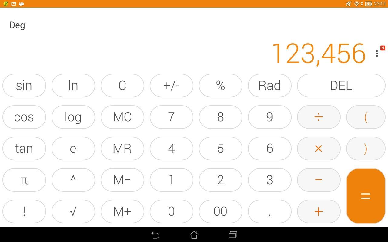 Calculator - unit converter screenshot 2