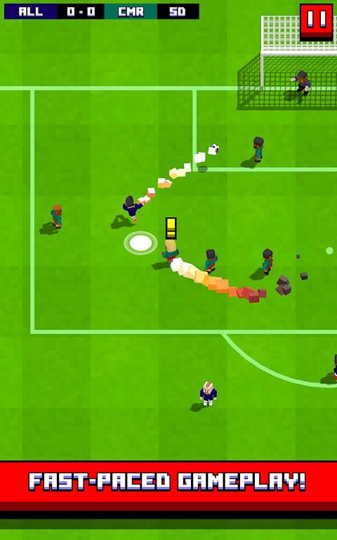 Retro Soccer - Arcade Football Game screenshot 2