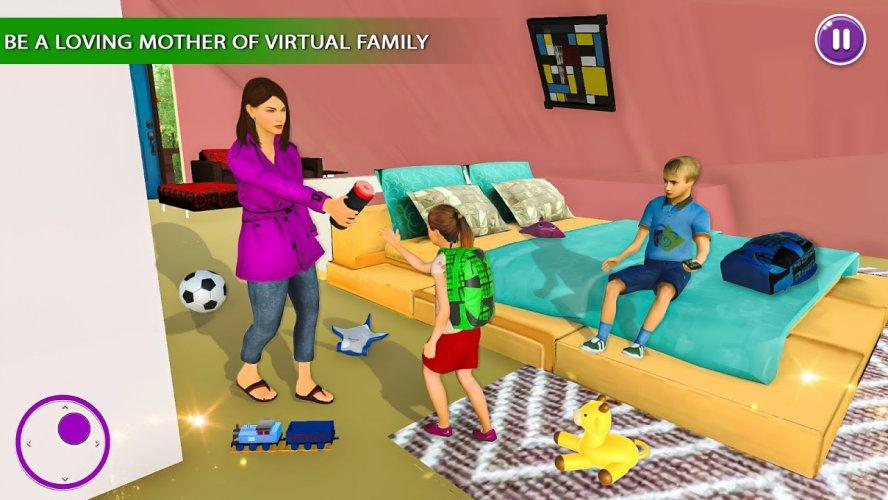 Amazing Family Game Virtual Mother Simulator screenshot 4