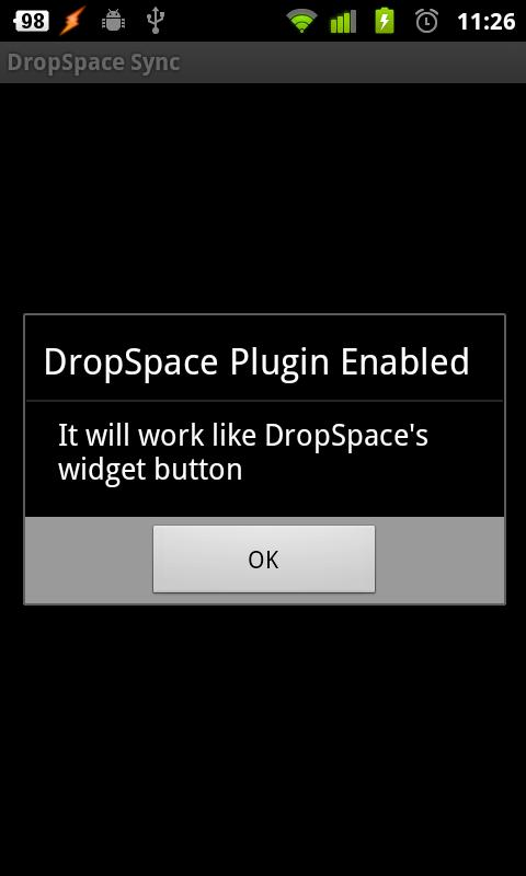 DropSpace Plugin For Tasker screenshot 2