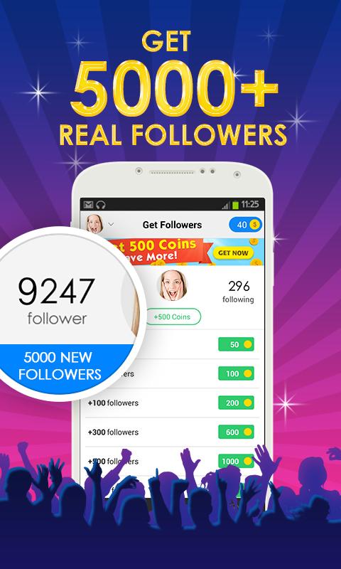 real followers 5000+