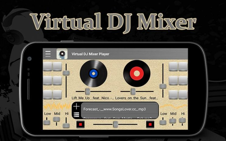 Virtual DJ Mixer Music Player 1 1 Download APK for Android - Aptoide