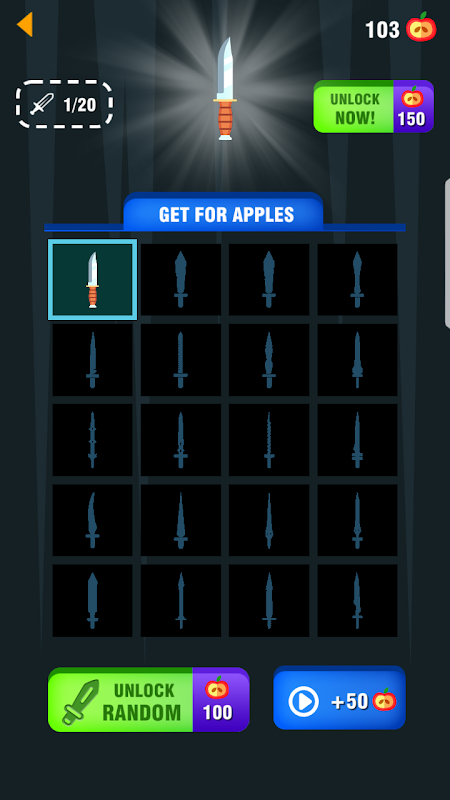 Throw Knife - The knife game challenge screenshot 2