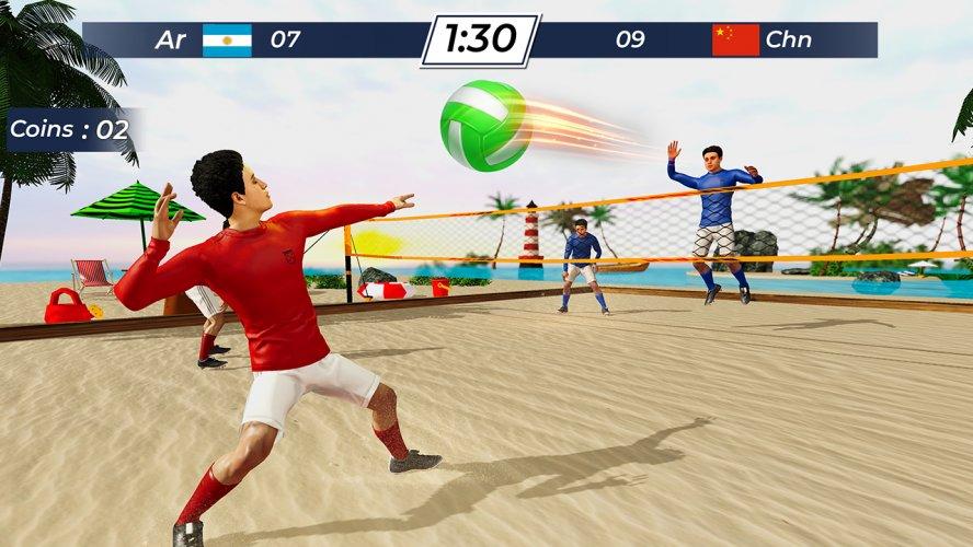 Volleyball 2021 - Offline Sports Games screenshot 4
