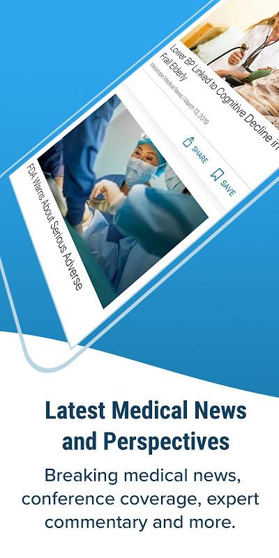 Medscape screenshot 1