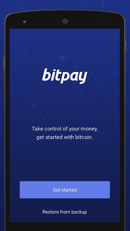 BitPay – Secure Bitcoin Wallet screenshot 1