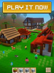 Block Craft 3D: Building Simulator Games For Free screenshot 2
