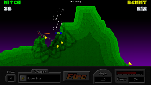Pocket Tanks screenshot 4