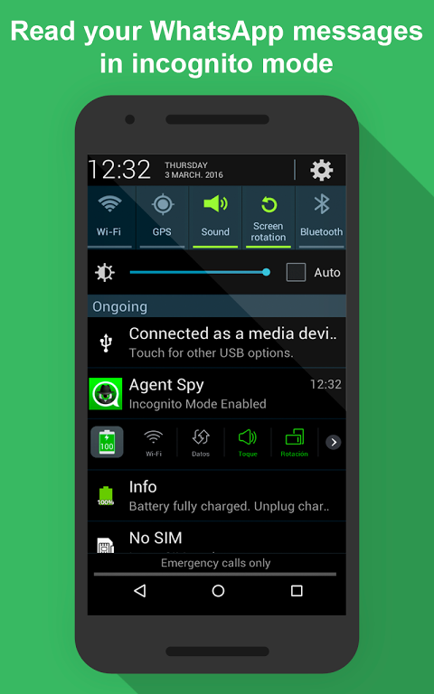whatsapp spy para samsung galaxy s6