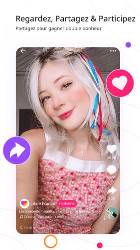 Likee - Laissez-vous briller screenshot 5
