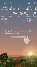 awesome weather yowindow live wallpaper widgets screenshot 3