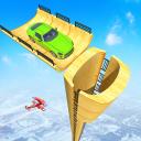 Mega Ramp Race - Flying Car Stuntman Ramp Racing