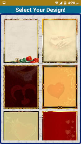 Wedding Invitation Cards Maker Marriage Card App 1 9