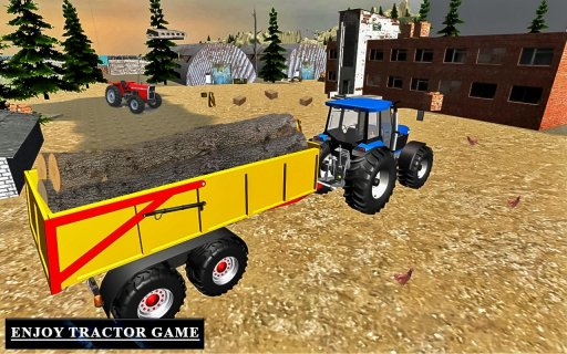 Heavy Tractor Trolley Driver Simulator Game screenshot 5