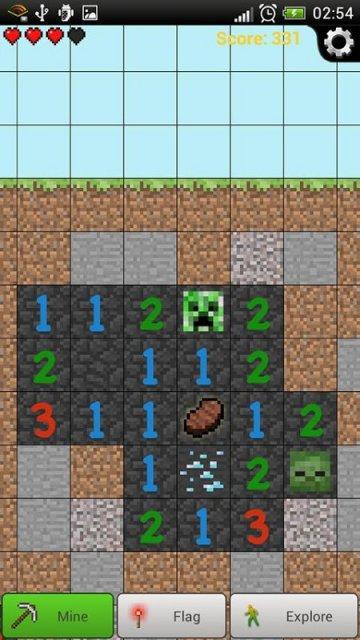 Android Minecraft - Pocket Edition