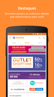 Shoptime - Loja virtual com ofertas da TV screenshot 1