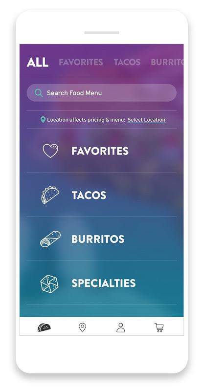 Taco Bell screenshot 2