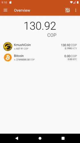 Kmushicoin Wallet screenshot 8