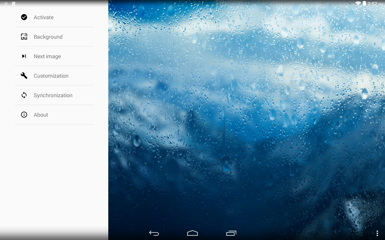 Rainpaper screenshot 1