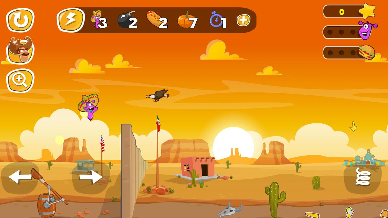 Jump the Wall - Mexico USA : Catapult, Jump, Escape - Appcoins ed. screenshot 2