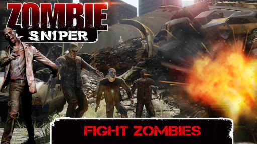 Zombie Sniper - Last Man Stand screenshot 3