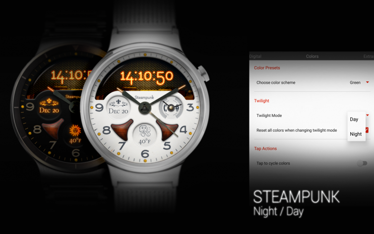 STEAMPUNK - Watch Face 5 0 Download APK for Android - Aptoide
