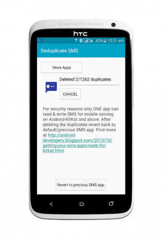 Deduplicate SMS 2 1 0 Download APK for Android - Aptoide