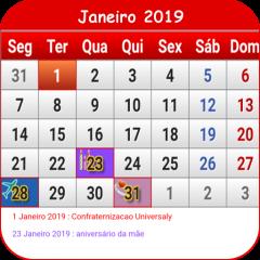 Calendario 2018 Brasil.Brasil Calendario 2018 1 27 Download Apk For Android Aptoide