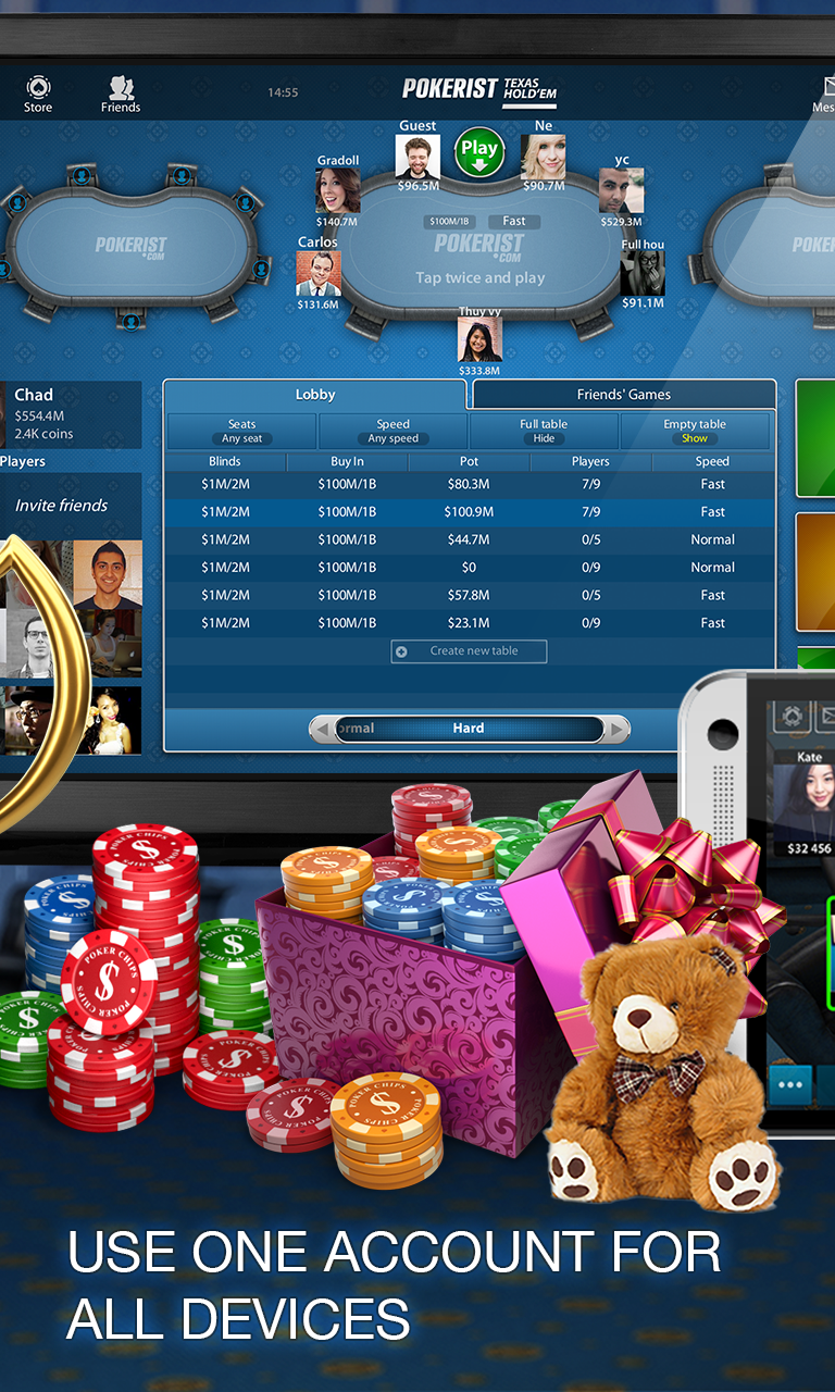 Pokerist: Texas Holdem Poker screenshot 3