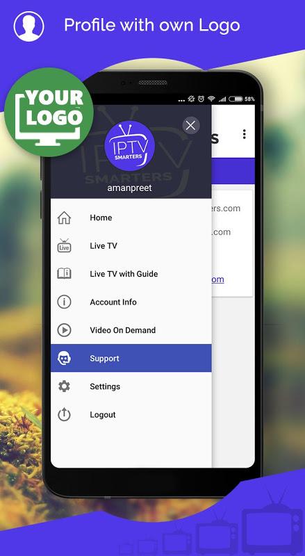 IPTV Smarters screenshot 2