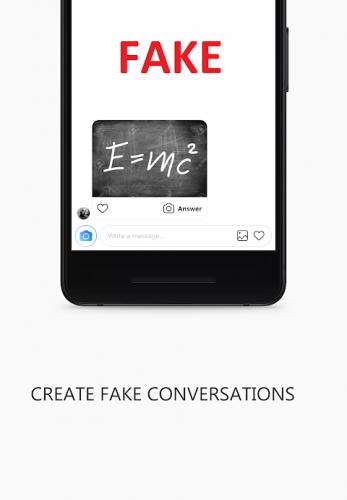 Apk chat fake instagram Fake Chat