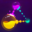 Splash Wars - glow space strategy game