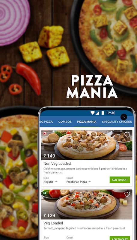 Domino's Pizza Online Delivery screenshot 1
