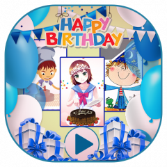 Happy Birthday Video Maker 1 1 загрузить Apk для Android Aptoide