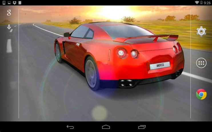 3d Car Live Wallpaper Screenshot 1 2