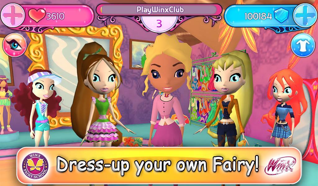 Winx Fairy School Lite screenshot 3