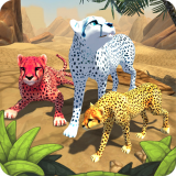 Cheetah Family Sim - Animal Simulator Icon