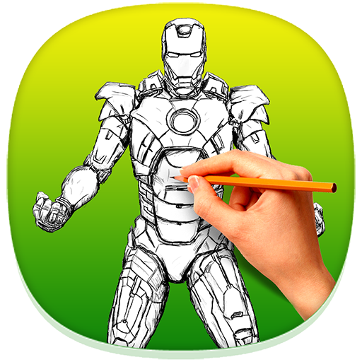 How To Draw Iron Man 1 0 Download Android Apk Aptoide