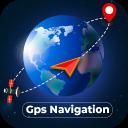 GPS Navigation Globe Map 3d
