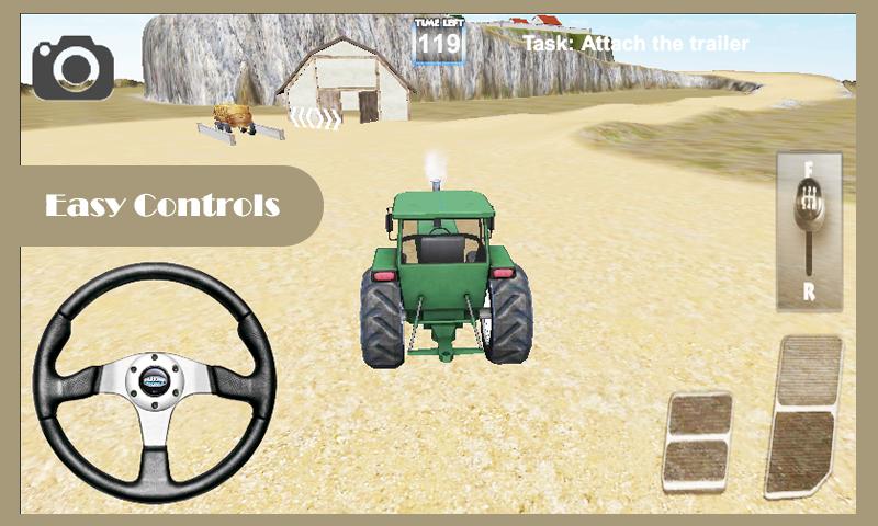 Tractor Driver Cargo screenshot 1