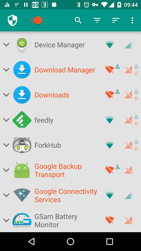 NetGuard - no-root firewall screenshot 1