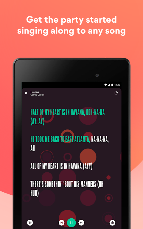 Musixmatch Lyrics screenshot 10
