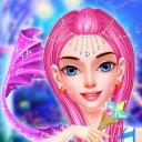 Mermaid Princess MakeUp DressUp Salon Games