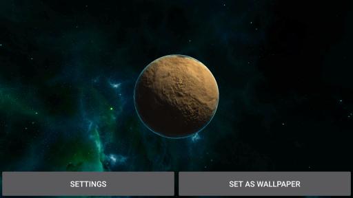 3D Solar System LWP screenshot 9