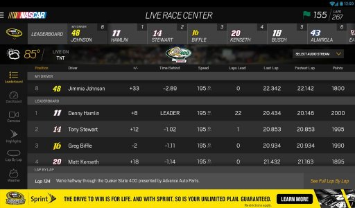 NASCAR MOBILE screenshot 7